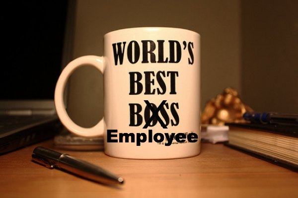 Worlds Best Employee Mug